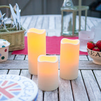 Small Outdoor Battery Led Candle