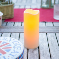 Large Outdoor Battery Led Candle