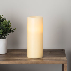 Large Chapel Battery LED Pillar Candle