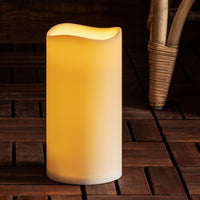 Large Port Isaac Battery Outdoor Led Candle
