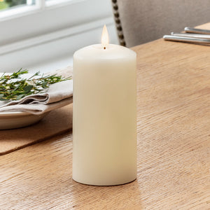 TruGlow® LED Pillar Candle 15cm