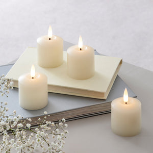 4 TruGlow® LED Votive Candles