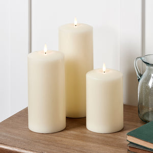 TruGlow® Chapel Candle Trio