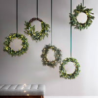 Mistletoe Christmas Wreath Micro Light Bundle