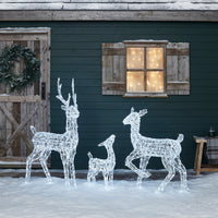 Acrylic Stag Light Up Reindeer