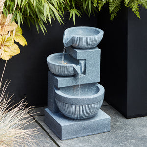 3 Bowl Water Feature