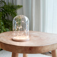 Minimal Glass Dome 21Cm