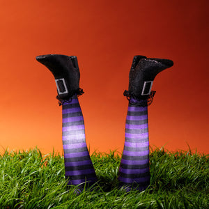 2 Witches Leg Stake Lights