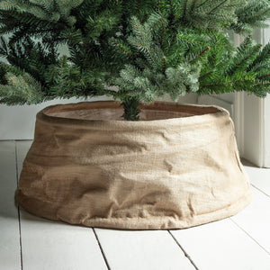 Natural Linen Tree Skirt