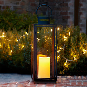 Malvern Large Battery Outdoor Lantern