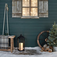 Black Porch Outdoor Lantern