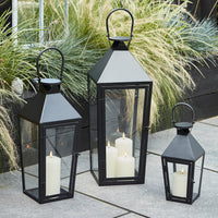 Cairns Medium Black Garden Lantern