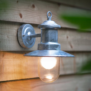 St Ives Ship Outdoor Wall Light