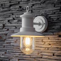 White Ships Outdoor Wall Light