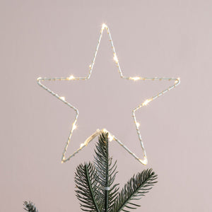 Osby Warm White Micro Battery Light Tree Topper