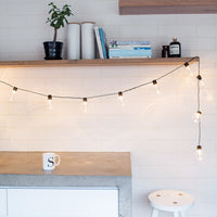 20 Warm White Carnival Battery Festoon Lights