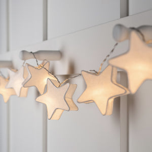 Leo Paper Star Battery Fairy Lights