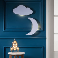 Cloud Silhouette Battery Night Light