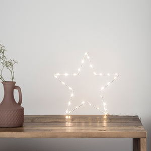 23cm Osby Star Window Light