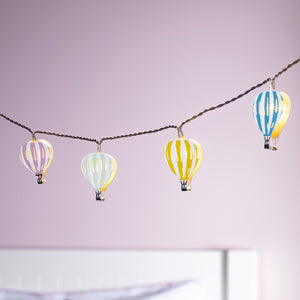 Hot Air Balloon Battery Children's Fairy Lights