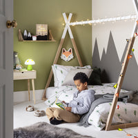 Mr Fox Battery Childrens Wall Light