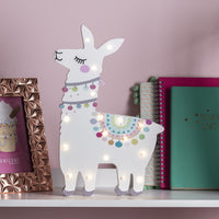 Llama Del Rey Battery Childrens Wall Light