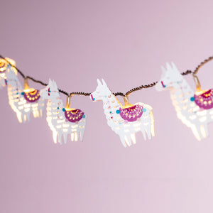 Llama Del Rey Battery Children's Fairy Lights