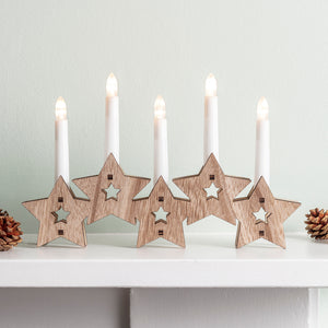 Wooden Candle Bridge