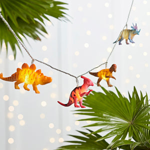 12 Dinosaur Fairy Lights