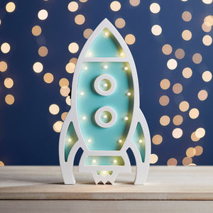 Children's Rocket Night Light