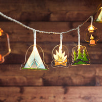 12 Camping Fairy Lights