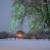 50m 500 Green LED Connectable Fairy Lights Clear Cable Core Series