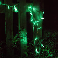 60m 600 Green LED Connectable Fairy Lights Clear Cable Core Series