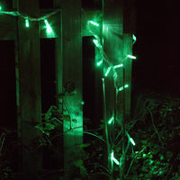 100 Green Led Connectable Fairy Lights Clear Cable 10M