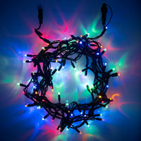 100 Multi Coloured Led Connectable Fairy Lights 10M