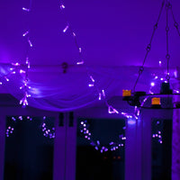 Core Connect 40m 400 Purple Connectable Fairy Lights Clear Cable