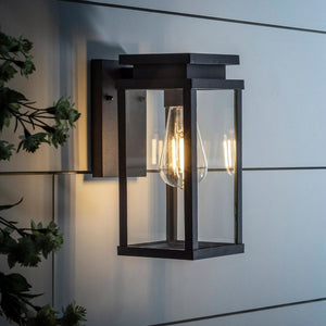 Ebony Lantern Wall Light