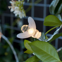20 Bee Led Solar Fairy Lights
