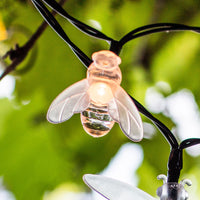 20 Firefly Led Solar Fairy Lights