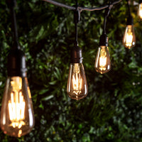 Squirrel Cage E27 1W Led Amber Filament Bulb