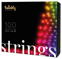 8m 100 LED Twinkly Smart App Controlled String Lights Multi Coloured