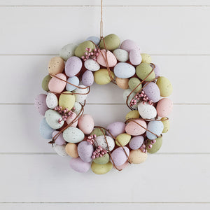 33cm Egg Easter Wreath