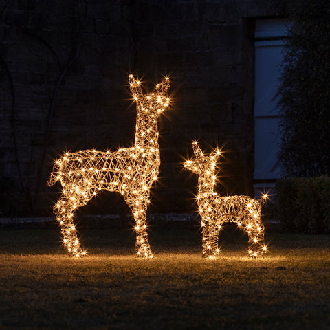 Outdoor Christmas Decorations Lights4fun Co Uk