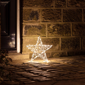 Small Outdoor LED Star Light