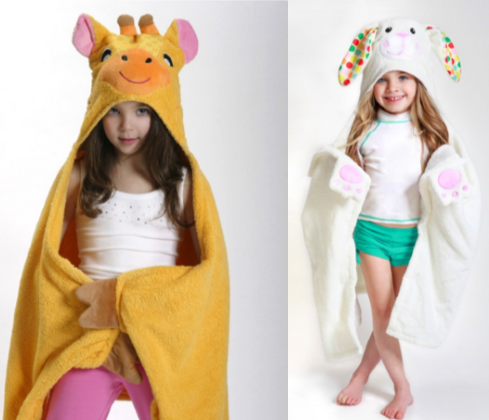 Children's Hooded Towels