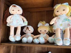 "Personalized 16"" Little  Me Doll Available Blonde & Brunette"