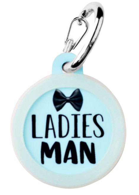 Ladies Man - Pet ID Tag