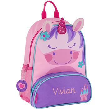Personalized 3D Unicorn Backpack by Stephen Joseph