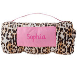 Personalized Leopard Nap Mat by Stephen Joseph