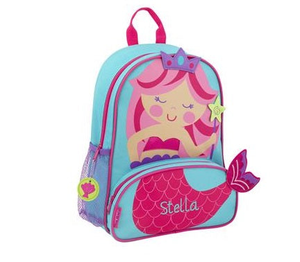 Personalized 3D Mermaid Backpack by Stephen Joseph